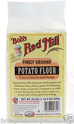 New Bob's Red Mill Finely Ground Potato Flour Mixes Gluten Free Baking Sauces