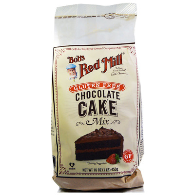 New Bob's Red Mill Gluten Free Diet Chocolate Cake Baking Mix Cookies Cooking
