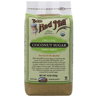 New Bob's Red Mill Organic Coconut Sugar Sweeteners Breakfast Baking Cooking