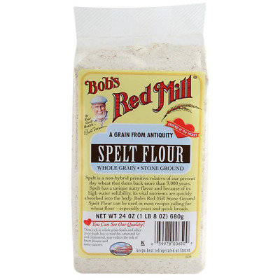 New Bob's Red Mill Spelt Flour Mixes Whole Grain Stone Ground Bread Baking Food