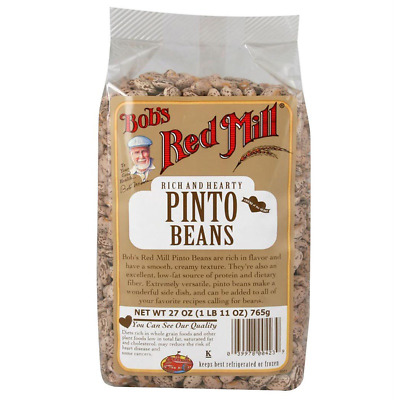 New Bob's Red Mill Pinto Beans Smooth Texture Low Fat Protein Dietary Fiber Food • AUD 31.50