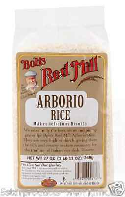 New Bob's Red Mill Arborio Rice Cooking Daily Creamy Risotto Whole Grain Healthy