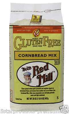New Bob's Red Mill Cornbread Gluten Wheat Free Whole Grain Flour Mix Food Lunch