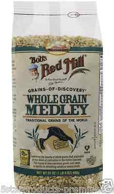 New Bob's Red Mill Whole Grains Medley Nutrition Food Groceries Cooking Food