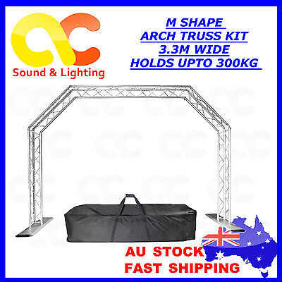 Arch Truss Kit with Carry bag All-in-one 3.3M wide 300kg load easy setup