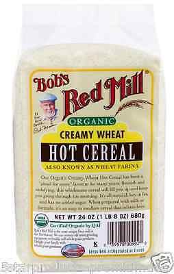 New Bob's Red Mill Organic Creamy Hot Cereal Breakfast Food Low Fat Daily Health