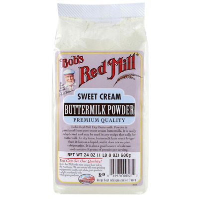 New Bob's Red Mill Sweet Cream Buttermilk Powder Natural Calcium Protein Foods