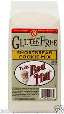 New Bob's Red Mill Gluten Wheat Free Shortbread Cookie Mix Baking Food Groceries