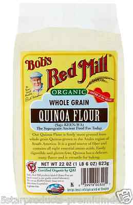 New Bob's Red Mill Organic Whole Grain Quinoa Gluten Free Nuts Seeds Food Lunch