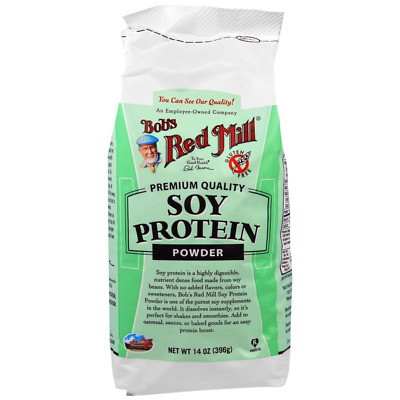 New Bob's Red Mill Soy Protein Powder Supplement Gluten Free Natural Body Care