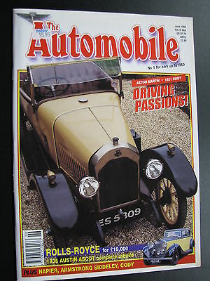 Magazine The Automobile Issue June 1998 (English) (JS)