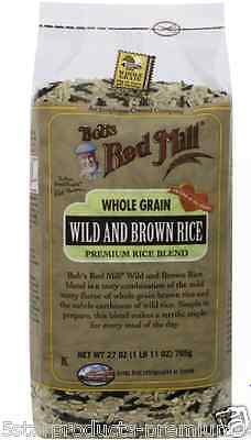 New Bob's Red Mill Wild Brown Rice Grain Cooking Daily Lunch Mix Daily Whole
