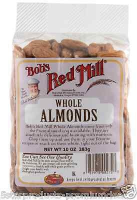New Bob's Red Mill Whole Almonds Seeds Natural Snacks Cooking Baking Daily Food