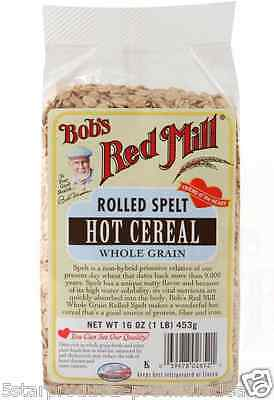 New Bob's Red Mill Rolled Spelt Hot Cereals Brakfast Foods Whole Grain Protein