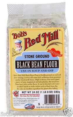 New Bob's Red Mill Black Bean Flour Gluten Free Dietary Fiber Body Care Healthy
