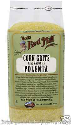 New Bob's Red Mill Corn Grits Polenta Cereals Breakfast Food Lunch Meal Healthy