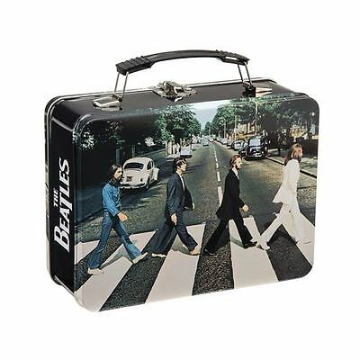 The Beatles Abbey Road Large Tin Tote Lunch Box