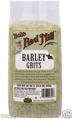 New Bob's Red Mill Barley Grits Cereals Breakfast Whole Grain Dietary Fiber Care