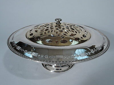 Reed & Barton Vase with Frog - 945A - Antique Bowl - American Sterling Silver