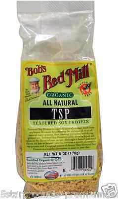 New Bob's Red Mill Organic Tsp Texture Soy Protein Daily Body Care Supllement
