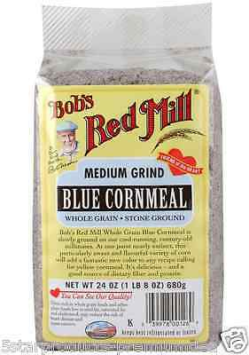 New Bob's Red Mill Cornmeal Gluten Wheat Free Whole Grain Flour Mixes Food Lunch