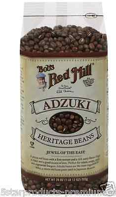 New Bob's Red Mill Adzuki Heritage Beans Fiber Iron Source Cooking Lunch Meal