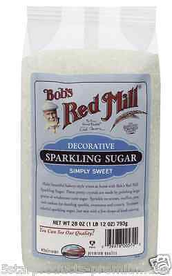 New Bob's Red Mill Sparkling Sugar Sweeteners Baking Cooking Food Lunch Snacks