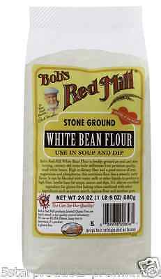 New Bob's Red Mill White Bean Flour Mixes Gluten Free Natural Dietary Fiber Care