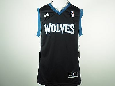 8abe3e167d58 Adidas Minnesota Timberwolves Basketball official NBA Youth Jersey New With  Tag