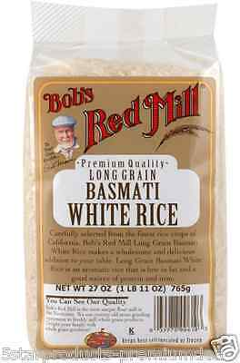 New Bob's Red Mill Long Grain White Rice Low Fat Dietary Fiber Protein Lunch