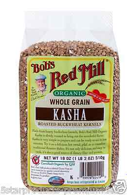 New Bob's Red Mill Organic Grain Kasha Gluten Free Dietary Fiber Protein Food