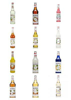 Monin Premium Coffee Syrups 70cl Glass Bottles - MULTI LISTING