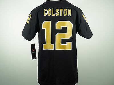 be7339b83 New Orleans Saints 12 Marques Colston NFL Youth Jersey Style Athletic Shirt