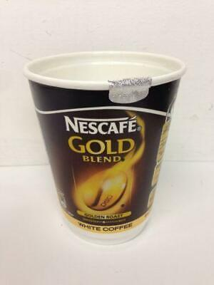 40 Cups Of Nescafe Gold Blend White Coffee 2GO / 2 GO Foil Sealed In Cup 12oz