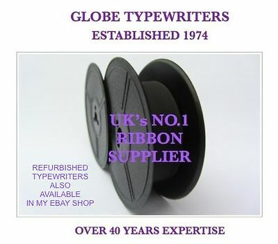 1 x UNDERWOOD NOISELESS 77 *PURPLE* TYPEWRITER RIBBON MANUAL REWIND+INSTRUCTIONS