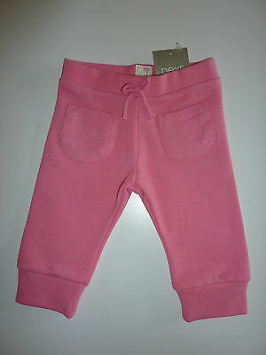 NEXT Really Cute Little Pink Cuffed Joggers NWT