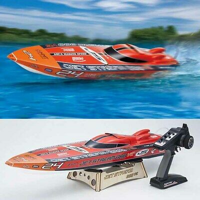 Kyosho JET STREAM 888 VE FRP Racing Boat Electric 1/15 Scale RTR w/KT-231P Radio