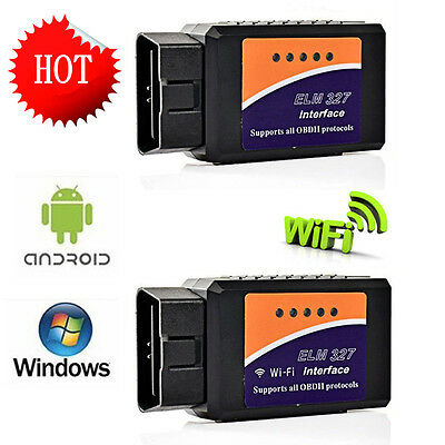 ELM327 V2.1 OBD2 CAN-BUS Bluetooth/WIFI Car Auto Diagnostic Interface Scanner MG