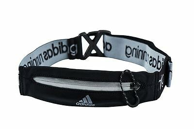 Adidas Run Belt Waist Bag Expandable Running Belt Waistpack Pocket AX8843 Black