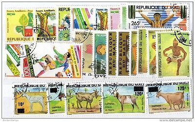 Mali Collection of 23 Values VFU X657