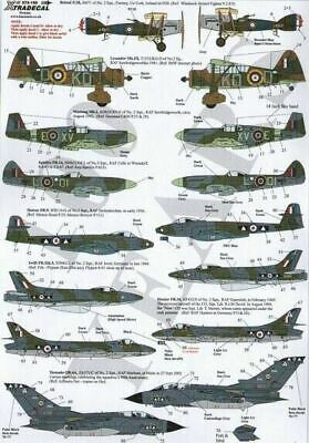 Xtradecal X72150 1/72 RAF No 2 Squadron History 1920-2002 Model Decals