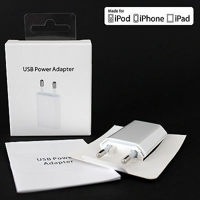 OEM Genuine Original Wall Charger 5W Power Adapter EU For Apple iPhone 7 6s iPod