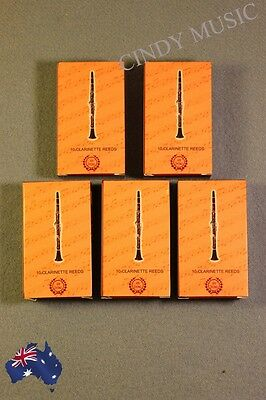 5PCS New XINZHONG Clarinet Reeds bB 10 piece of packaging
