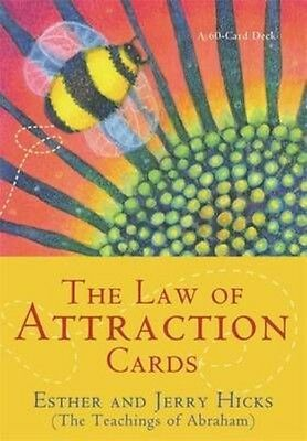 The Law of Attraction Cards by Esther Hicks 60-Card Deck Book (English)