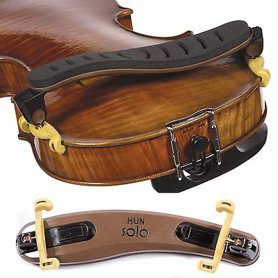 Kun Solo Shoulder Rest for 4/4 Violin - AUTHORIZED DEALER - FAST SHIPPING!