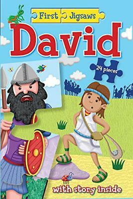 First Jigsaws David by Josh Edwards | Paperback Book | 9781781281352 | NEW