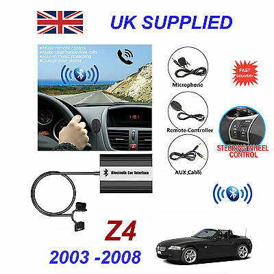 BMW Z4 Bluetooth Hands Free Phone AUX Input MP3 USB 1.0A Charger Module 03-08