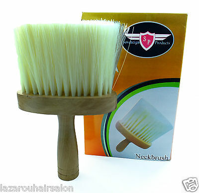 Hairdressing Or Barbering Neck Brush...large Hand Made Quality Product.