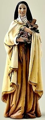 """Joseph's Studio St. Therese of Lisieux 4"""" Inch Statue NIB """"The Little Flower"""""""