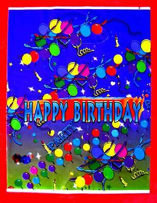 20 Kids Plastic Birthday Party Favor Gift Bags 22x16.5cm New
